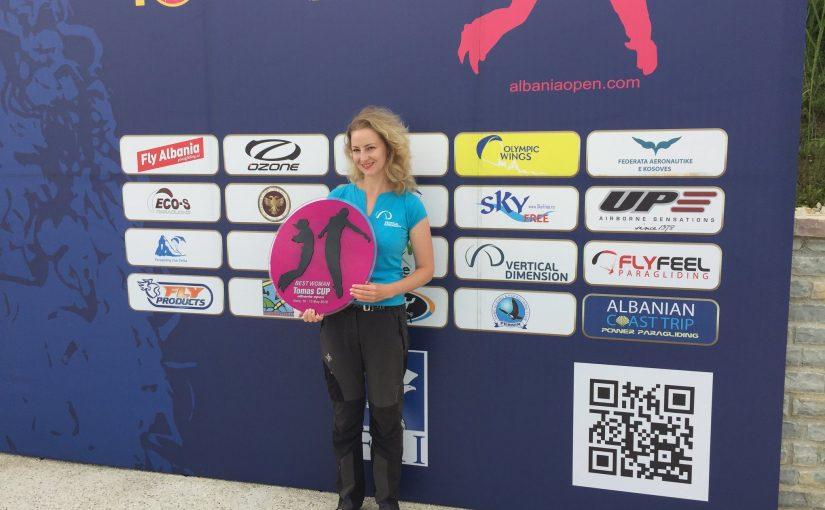 """Lietuvė – pirmoji """"Albania Open – Tomas cup"""" ( FAI 2 kat.) moterų įskaitoje"""